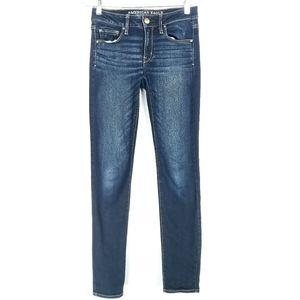American Eagle Womens 2 Skinny Jeans Inseam 31